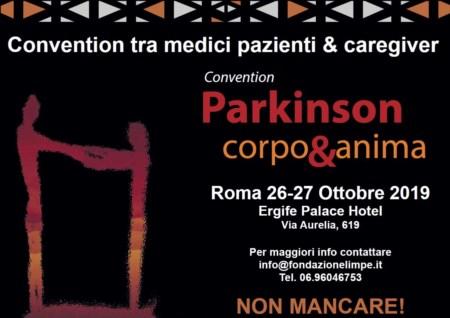 """Convention """"Parkinson: Corpo & Anima"""" 26 e 27 Ottobre 2019"""