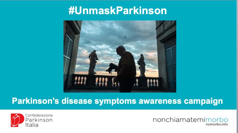 #UnmaskParkinson